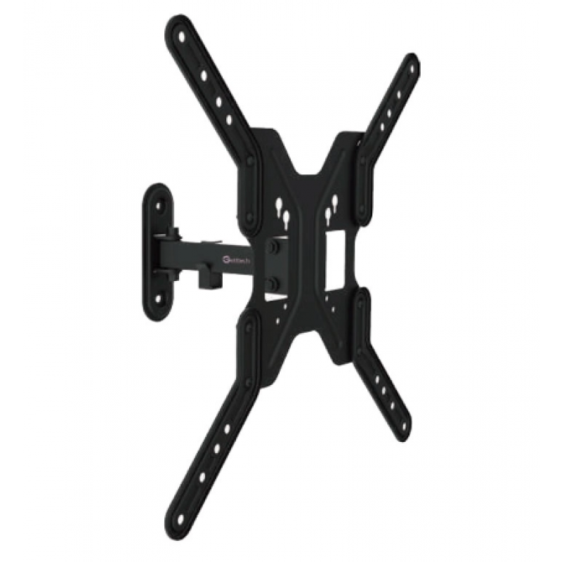 GETTTECH SCREEN MOUNT FOR 17-55 INCH TV/SCREEN ARTICULATED ARM UP TO 66 LB BLACK (TW-1090)