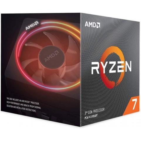 CPU AMD RYZEN 7 3700X 3.6GHZ 32MB 65W SOC AM4 (100-100000071BOX)