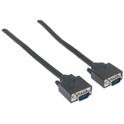 CABLE MONITOR SVGA MANHATTAN 8MM HD15M-M  4.5M 312721