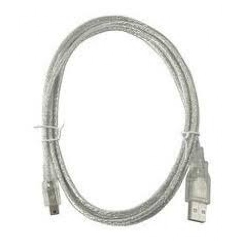 CABLE USB V2.0 MANHATTAN A-MINI B 1.8M PLATA  333412