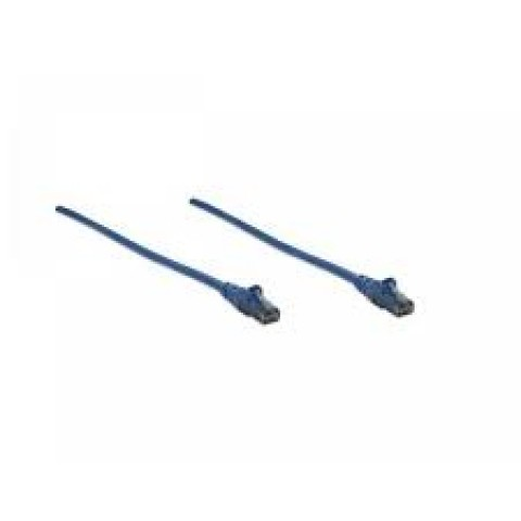 CABLE PATCH CAT6, UTP 7FT (3.0MTS) INTELLINET COLOR AZUL 342605