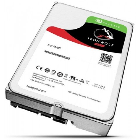 "Disco duro interno Seagate st2000vn004 ironwolf (nas), 2tb, 3.5"", 5900rpm, 64mb cache"