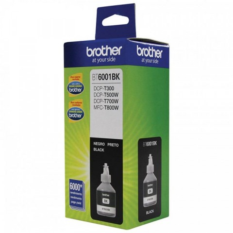 Botella de tinta Brother bt6001bk negro, 6000 paginas
