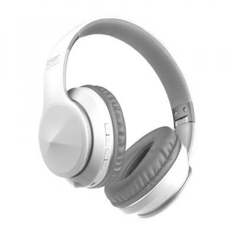 ACTECK AUDIFONOS ON-EAR BLUETOOTH BLANCO VOID A100 10HRS AC-929882