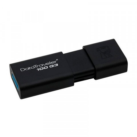 Memoria USB Kingston dt100g3 negra, 32gb, 3,0 (dt100g3/32gb)