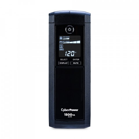 UPS/NO BREAK CYBERPOWER CP1500AVRLCDa 1500VA/900W LCD/AVR/ 12NEMA