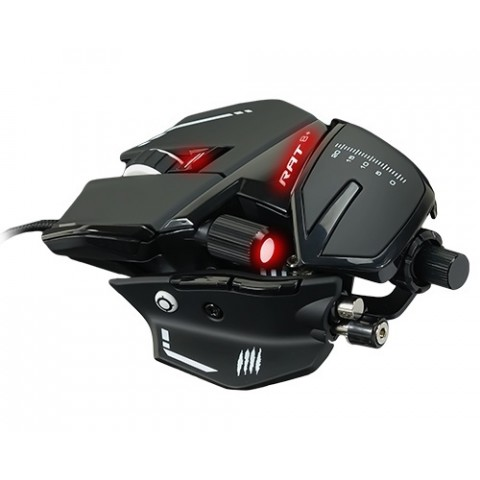 MOUSE OPTICO GAMING VERBATIM R.A.T. 8+16000 DPI MAD CATZ MR05DCAMBL00