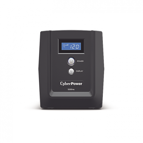 UPS/NO BREAK CYBERPOWER OM1500ATLCD 1500VA/900W LCD/AVR/6 NEMA