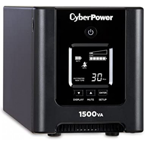 UPS/NO BREAK CYBERPOWER OR1500PFCLCD 1500VA/1050W PFC ACTIVAS 8NEMA