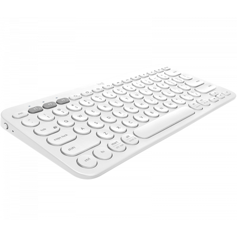 TECLADO LOGITECH K380 BLANCO BLUETOOTH PC/MAC/IOS/ANDROID (920-009595)