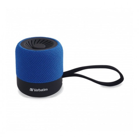 MINI ALTAVOZ VERBATIM INALAMBRICO BLUETOOTH - AZUL VB70229