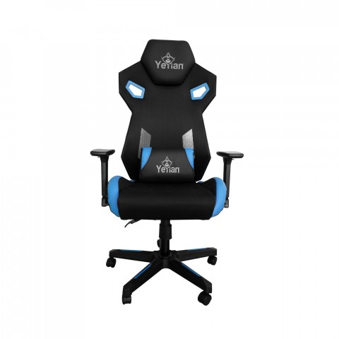 Yeyian Gaming Chair Drakkar Series 2500, Blue - SKU: YFC-ECFL-01-BL.